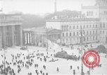 Image of Brandenburg Gate Berlin Germany, 1923, second 22 stock footage video 65675053004