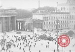 Image of Brandenburg Gate Berlin Germany, 1923, second 33 stock footage video 65675053004