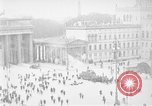 Image of Brandenburg Gate Berlin Germany, 1923, second 34 stock footage video 65675053004