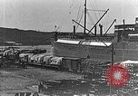Image of US soldiers protect commodities sea port Vladivostok Russia, 1918, second 3 stock footage video 65675053025