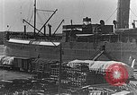Image of US soldiers protect commodities sea port Vladivostok Russia, 1918, second 5 stock footage video 65675053025