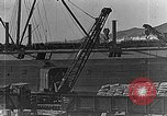 Image of US soldiers protect commodities sea port Vladivostok Russia, 1918, second 13 stock footage video 65675053025