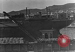 Image of US soldiers protect commodities sea port Vladivostok Russia, 1918, second 17 stock footage video 65675053025
