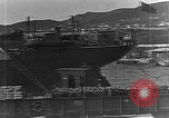 Image of US soldiers protect commodities sea port Vladivostok Russia, 1918, second 18 stock footage video 65675053025