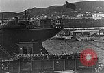 Image of US soldiers protect commodities sea port Vladivostok Russia, 1918, second 19 stock footage video 65675053025