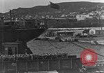 Image of US soldiers protect commodities sea port Vladivostok Russia, 1918, second 21 stock footage video 65675053025