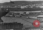 Image of US soldiers protect commodities sea port Vladivostok Russia, 1918, second 23 stock footage video 65675053025