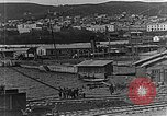Image of US soldiers protect commodities sea port Vladivostok Russia, 1918, second 25 stock footage video 65675053025