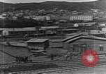 Image of US soldiers protect commodities sea port Vladivostok Russia, 1918, second 26 stock footage video 65675053025