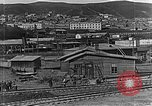 Image of US soldiers protect commodities sea port Vladivostok Russia, 1918, second 27 stock footage video 65675053025