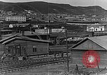 Image of US soldiers protect commodities sea port Vladivostok Russia, 1918, second 29 stock footage video 65675053025