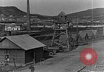 Image of US soldiers protect commodities sea port Vladivostok Russia, 1918, second 33 stock footage video 65675053025