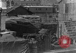Image of US soldiers protect commodities sea port Vladivostok Russia, 1918, second 38 stock footage video 65675053025