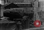 Image of US soldiers protect commodities sea port Vladivostok Russia, 1918, second 44 stock footage video 65675053025