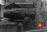 Image of US soldiers protect commodities sea port Vladivostok Russia, 1918, second 46 stock footage video 65675053025