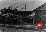 Image of US soldiers protect commodities sea port Vladivostok Russia, 1918, second 47 stock footage video 65675053025