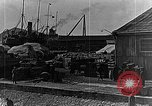 Image of US soldiers protect commodities sea port Vladivostok Russia, 1918, second 48 stock footage video 65675053025