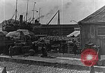Image of US soldiers protect commodities sea port Vladivostok Russia, 1918, second 49 stock footage video 65675053025