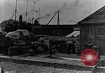 Image of US soldiers protect commodities sea port Vladivostok Russia, 1918, second 50 stock footage video 65675053025