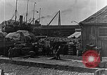 Image of US soldiers protect commodities sea port Vladivostok Russia, 1918, second 51 stock footage video 65675053025