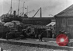 Image of US soldiers protect commodities sea port Vladivostok Russia, 1918, second 52 stock footage video 65675053025