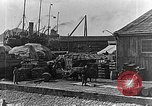 Image of US soldiers protect commodities sea port Vladivostok Russia, 1918, second 53 stock footage video 65675053025