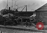 Image of US soldiers protect commodities sea port Vladivostok Russia, 1918, second 55 stock footage video 65675053025