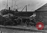 Image of US soldiers protect commodities sea port Vladivostok Russia, 1918, second 56 stock footage video 65675053025