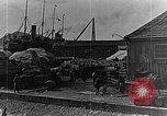 Image of US soldiers protect commodities sea port Vladivostok Russia, 1918, second 57 stock footage video 65675053025