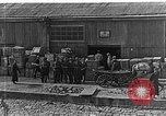 Image of US soldiers protect commodities sea port Vladivostok Russia, 1918, second 59 stock footage video 65675053025