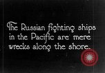 Image of Wrecked  Russian warships Vladivostok Russia, 1919, second 1 stock footage video 65675053026