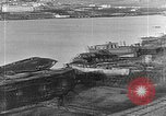 Image of Wrecked  Russian warships Vladivostok Russia, 1919, second 14 stock footage video 65675053026