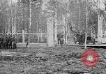 Image of American 339th Infantry Regiment Archangel Russia, 1918, second 36 stock footage video 65675053049