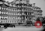 Image of Old State Building Washington DC USA, 1921, second 21 stock footage video 65675053055