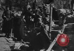 Image of construction of building Eastern Front European Theater, 1916, second 23 stock footage video 65675053070