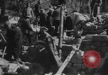 Image of construction of building Eastern Front European Theater, 1916, second 25 stock footage video 65675053070
