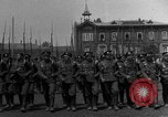 Image of military parade in town Russia, 1916, second 6 stock footage video 65675053078