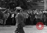 Image of military parade in town Russia, 1916, second 14 stock footage video 65675053078
