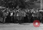 Image of military parade in town Russia, 1916, second 15 stock footage video 65675053078
