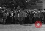 Image of military parade in town Russia, 1916, second 16 stock footage video 65675053078