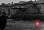 Image of military parade in town Russia, 1916, second 22 stock footage video 65675053078