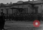 Image of military parade in town Russia, 1916, second 23 stock footage video 65675053078