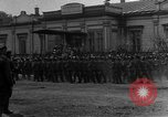 Image of military parade in town Russia, 1916, second 24 stock footage video 65675053078