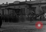 Image of military parade in town Russia, 1916, second 27 stock footage video 65675053078