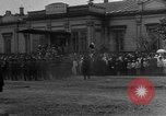Image of military parade in town Russia, 1916, second 28 stock footage video 65675053078
