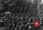 Image of military parade in town Russia, 1916, second 32 stock footage video 65675053078