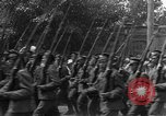 Image of military parade in town Russia, 1916, second 33 stock footage video 65675053078