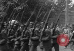 Image of military parade in town Russia, 1916, second 34 stock footage video 65675053078