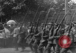 Image of military parade in town Russia, 1916, second 36 stock footage video 65675053078
