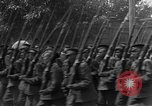 Image of military parade in town Russia, 1916, second 37 stock footage video 65675053078